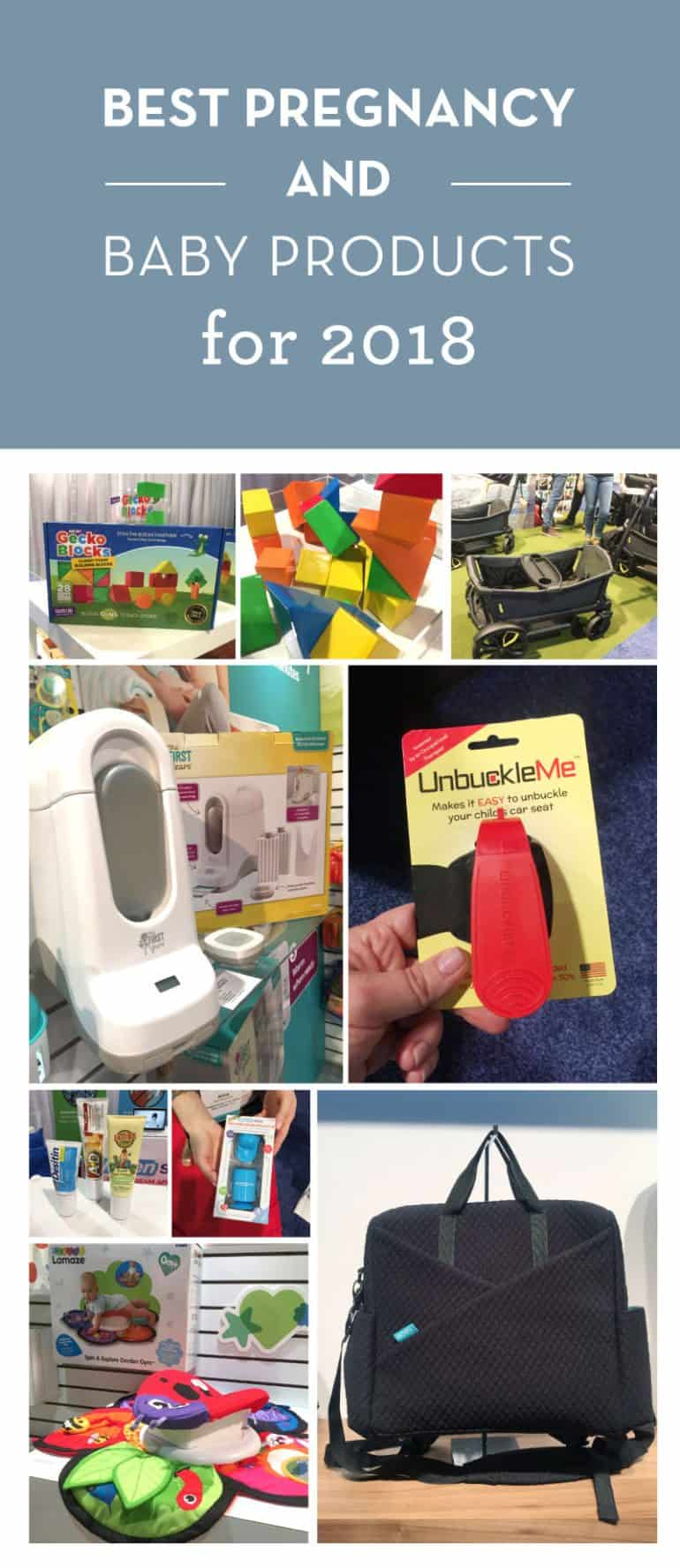 A sneak peek at the best baby & pregnancy products for 2018. From simple monitors to easier tummy time, some of this gear will blow your mind.