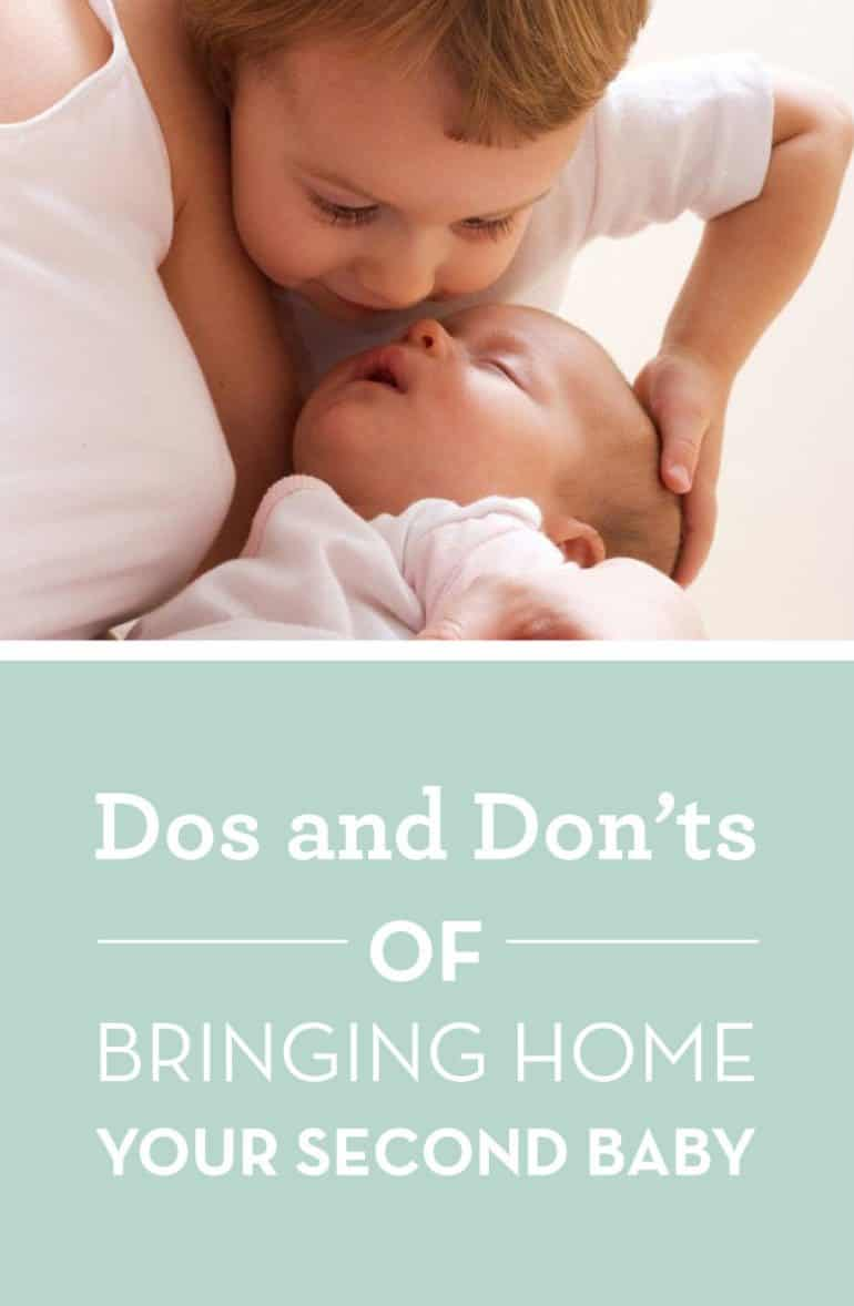 dos and don't of brining home your second baby