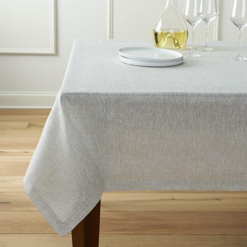 Baby Proofing Tips: Avoid tablecloths - A baby learning to pull up has no idea that using the tablecloth will result in everything on the table landing on his hea