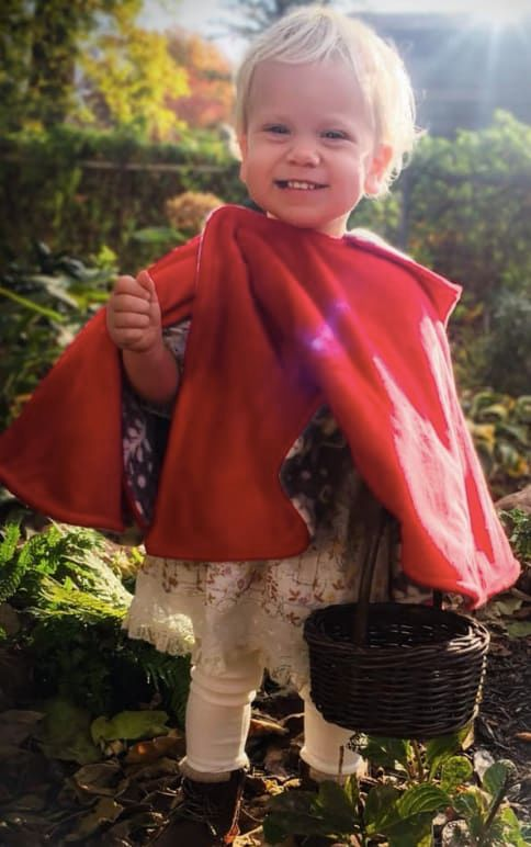 DIY little red riding