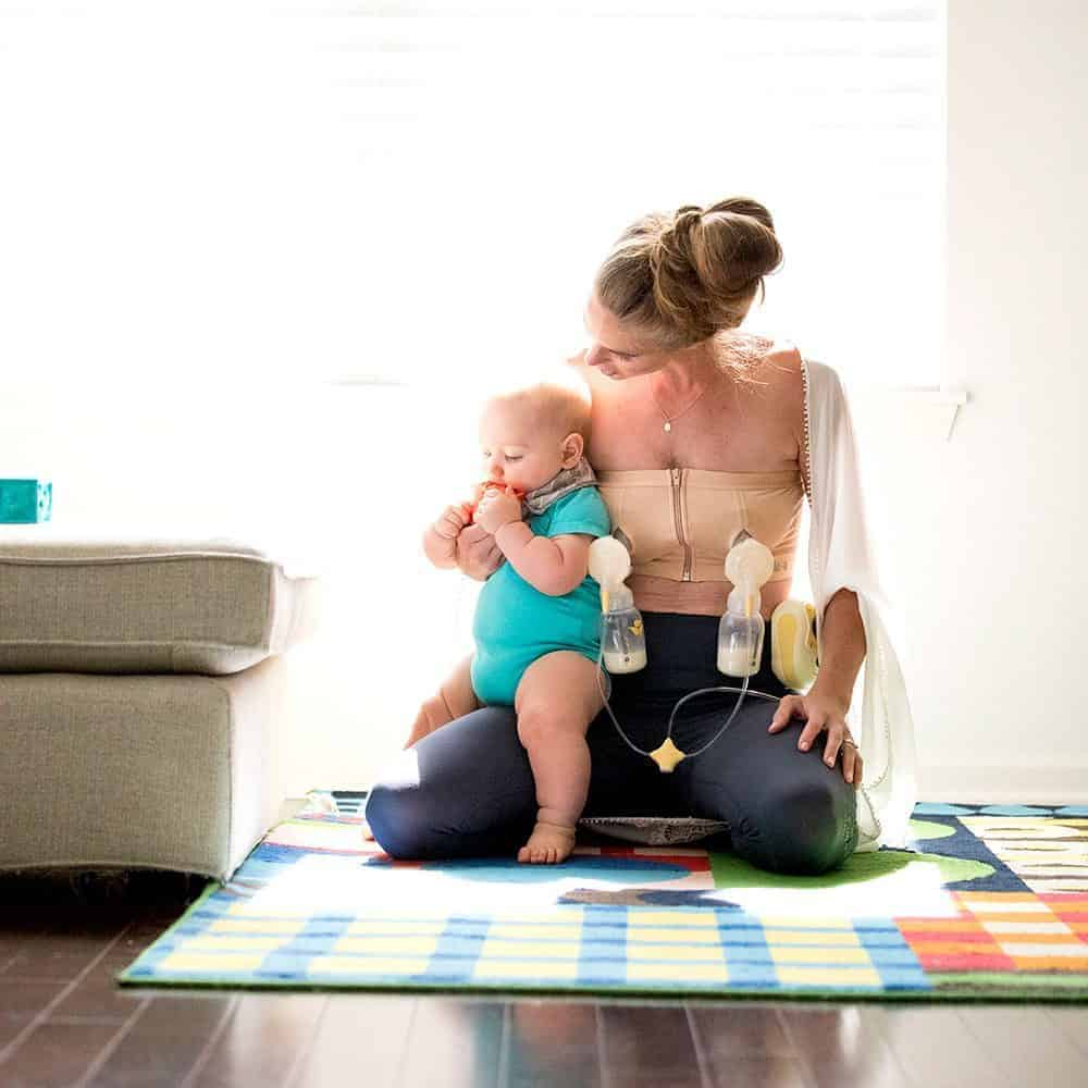 50 moms tried out the Medela Easy Expression Hands Free Bustier. See what they thought about this new pumping bra.