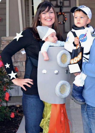 rocket carrier costume