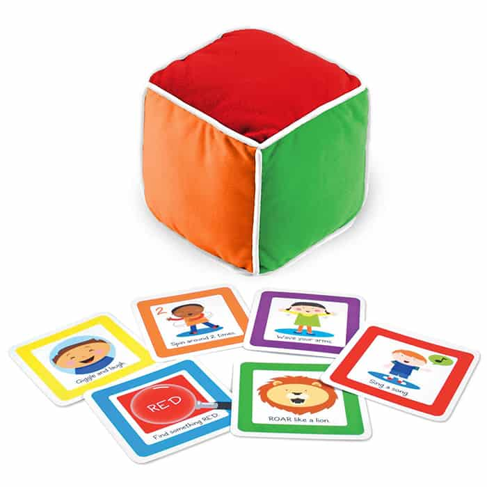 roll and play baby game