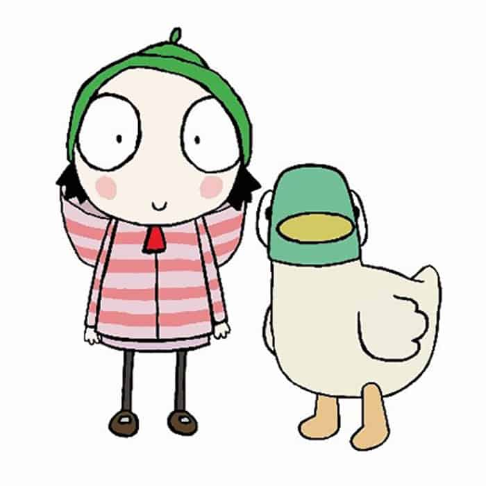 Sarah and Duck tv show