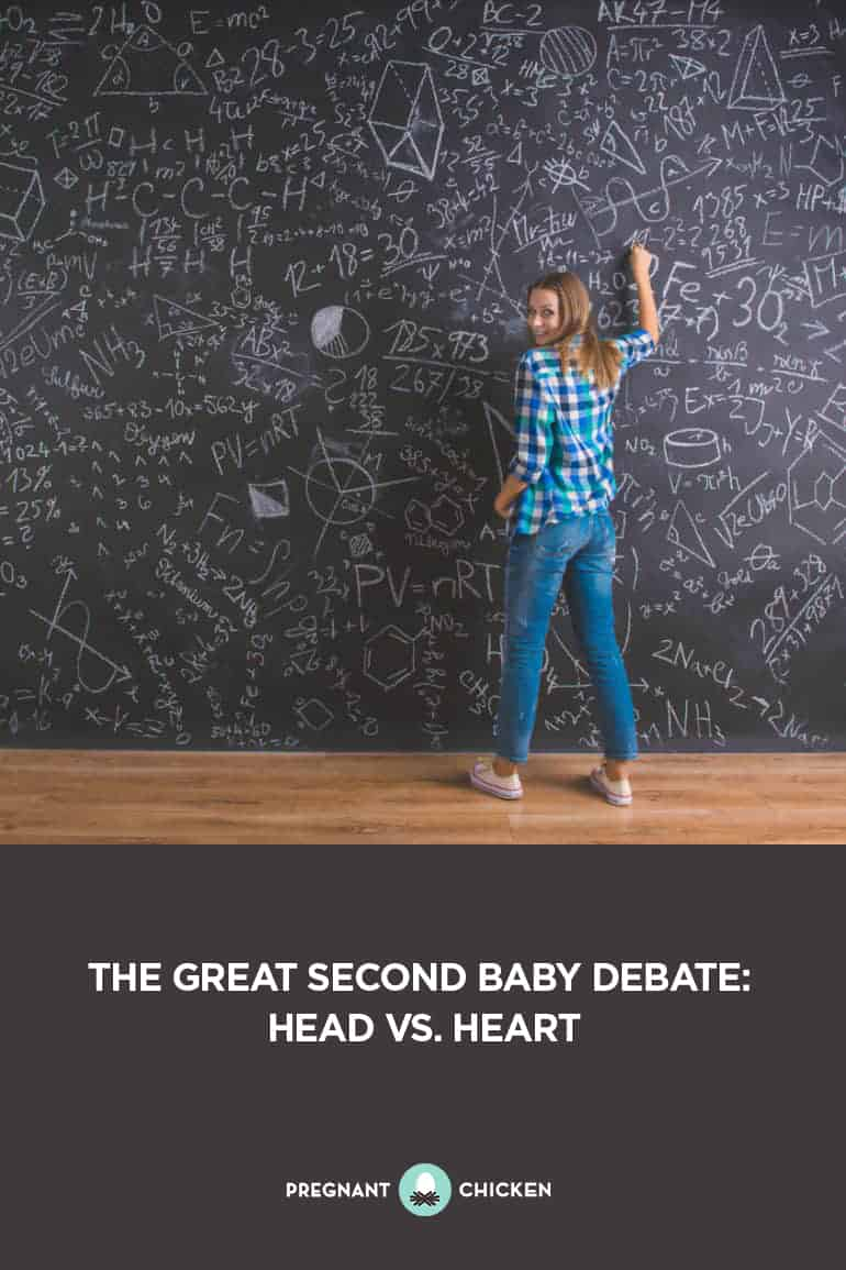 The Great Second Baby Debate: Head Vs. Heart
