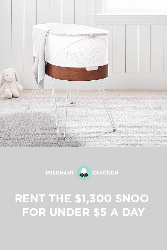 Have you heard? You can now rent a SNOO for less than what you'd spend on your daily coffee habit. Cue the (silent) trombones.