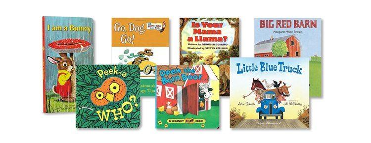 Christmas ideas for newborns: Board Books