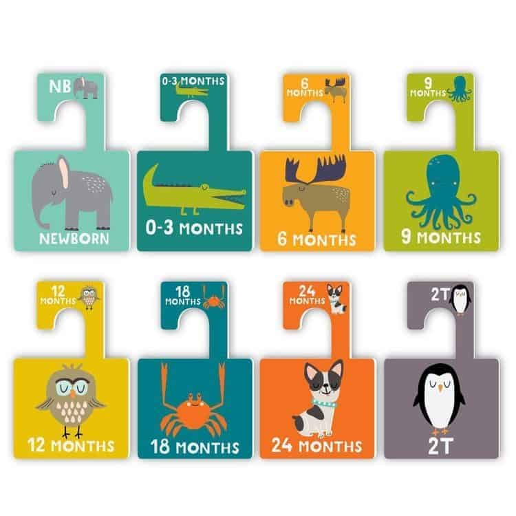 Infant gift ideas: Lucy Darling Closet Dividers