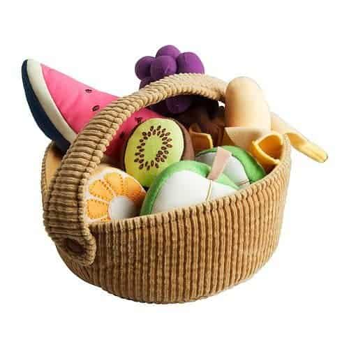 Best gifts for babies: DUKTIG 9-piece fruit basket set – IKEA makes the best gift for a 9 month old baby girl