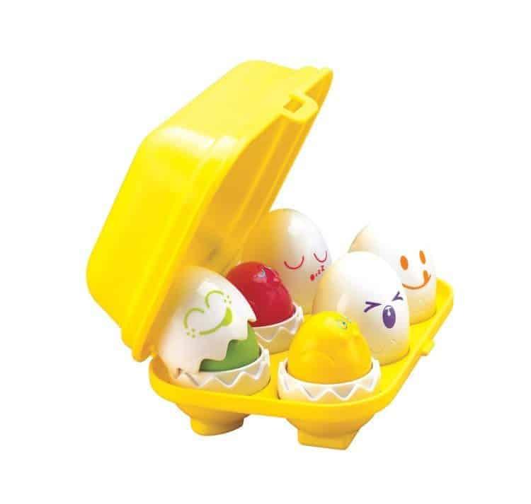 Great gifts for babies: Hide N Squeak Eggs