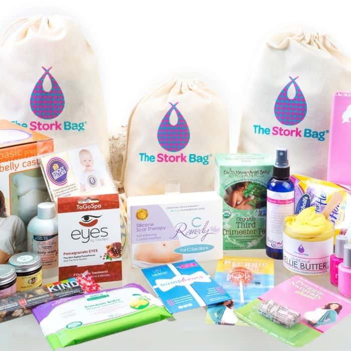The Stork Bag pregnancy subscription box