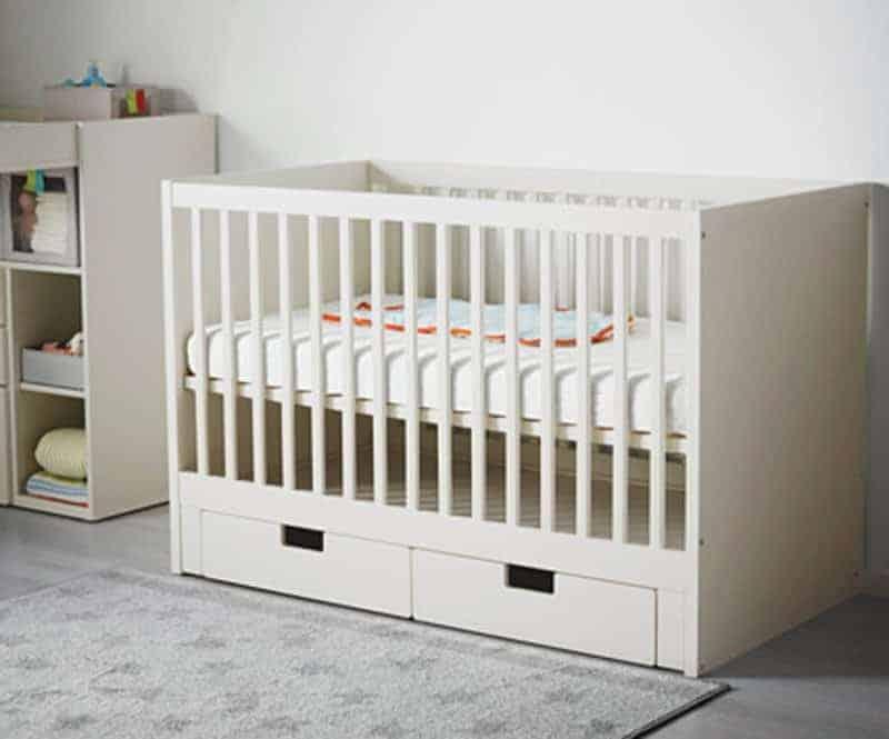 stuva-crib-with-drawers-white