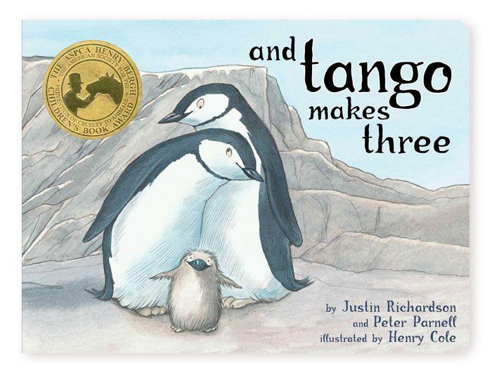 And Tango Makes Three children's book