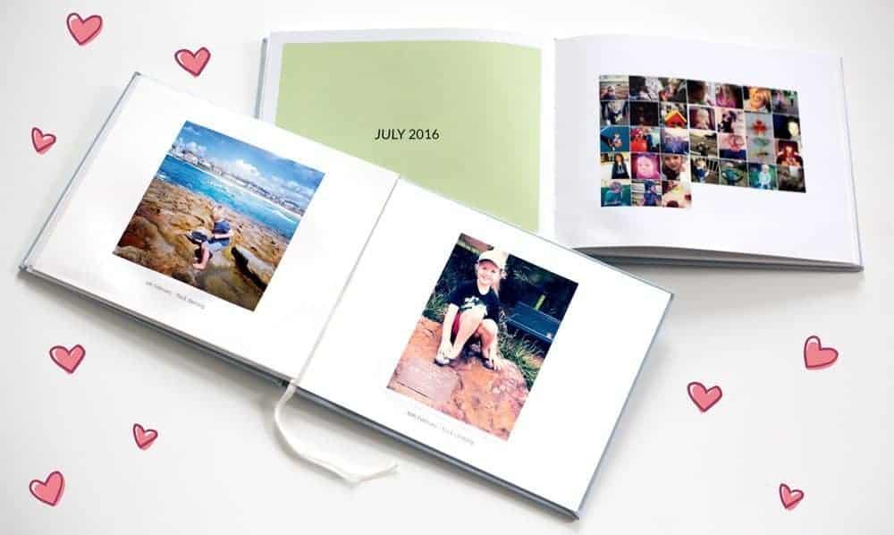 Tinybeans photo book