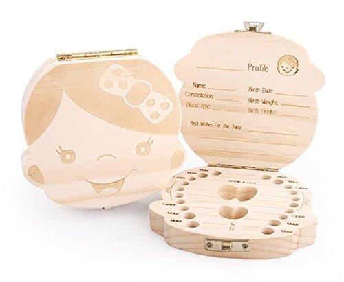 tooth save box unique newborn gift idea