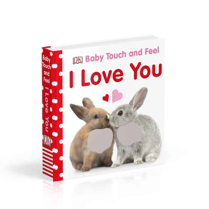 I love you board book - Baby's First Valentine's Day Gifts idea