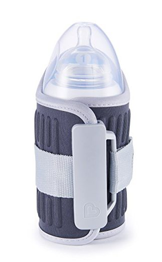 Best Baby Travel Products: Munchkin travel bottle warmer for long car trips
