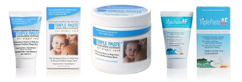 Triple Paste medicated diaper rash ointment