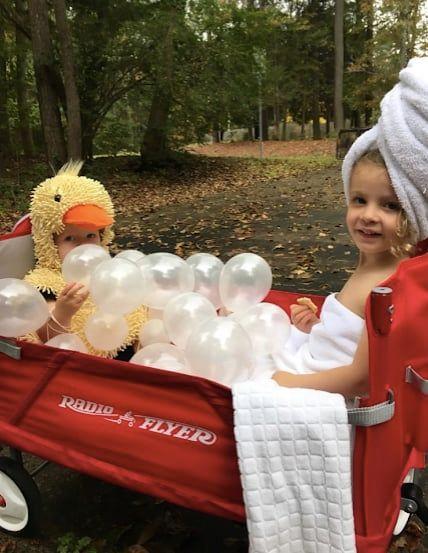 bubble bath wagon baby halloween costume