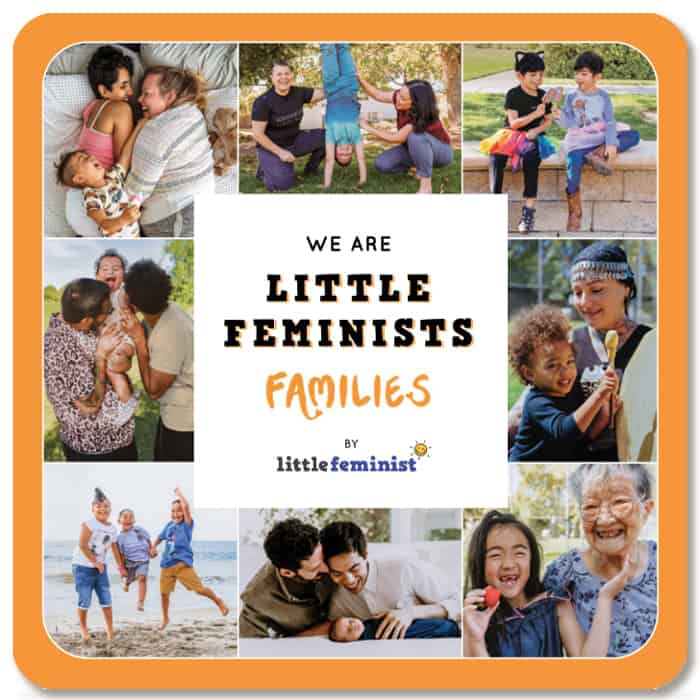 Cover of board book We Are Little Feminists Families