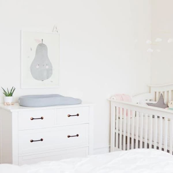 nursery nook with white themenursery nook with white theme