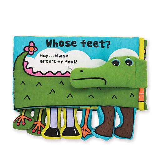 Whose feet book - STEM baby books