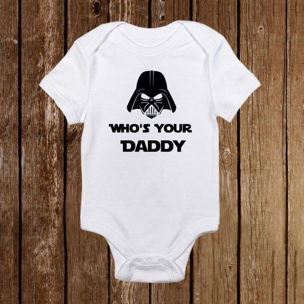funny onesies - darth vader