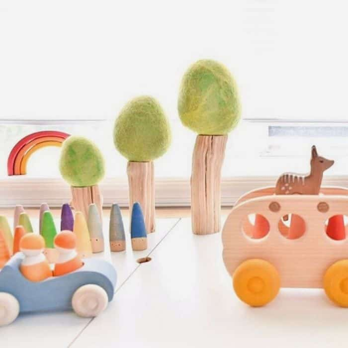 Wooden toys from Why and Whale