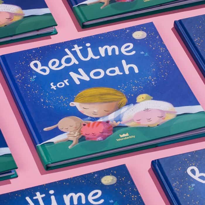 bedtime for Noah custom book