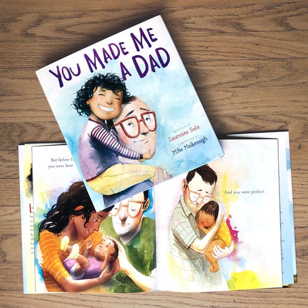 You Made Me a Dad book - gifts for a new dad