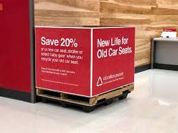 bin for target car seat trade-in