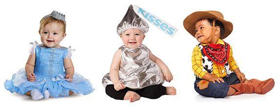 Baby costume, princess, kiss, cowboy